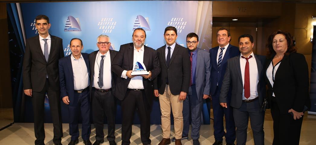 """Ship of the year 2019"" το WORLDCHAMPION JET της SEAJETS  στα Lloyd's List Greek Shipping Awards 2019"