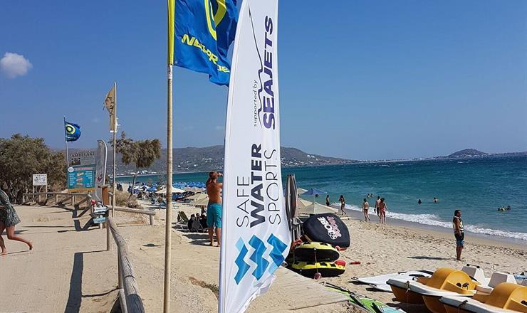 H Seajets υπερήφανος υποστηριχτής του Safe Water Sports!